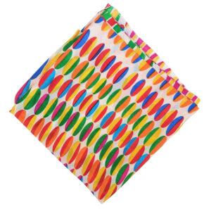 Digital Print Semi Chinon Dupatta Multicolour Chunni DP018