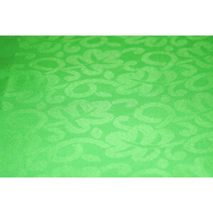 Parrot Green Cotton Jacquard Self Print Plain Suit piece of 5 meters length CJ024