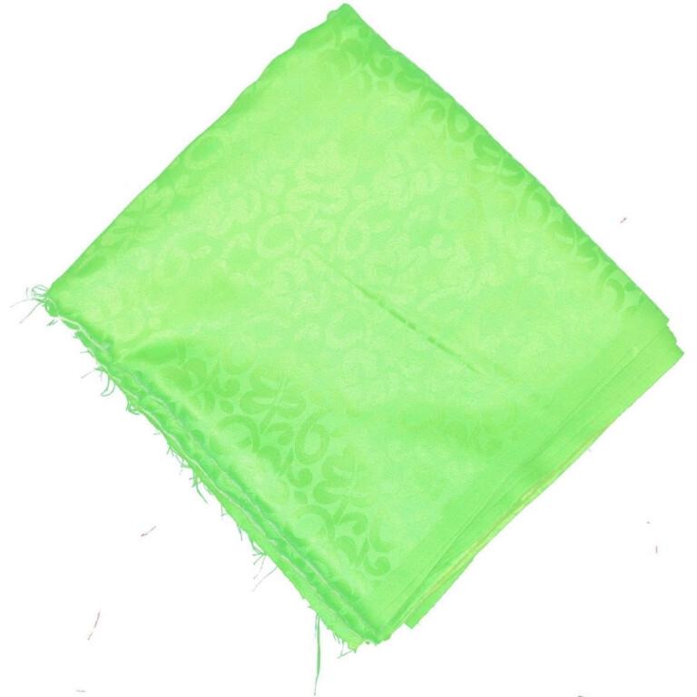 Parrot Green Cotton Jacquard Self Print Plain Suit piece of 5 meters length CJ024