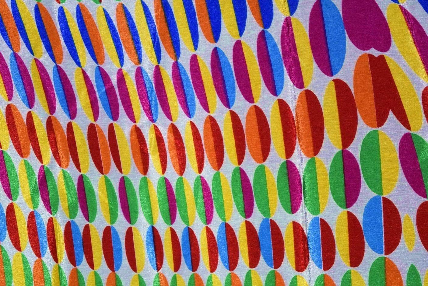 DIGITAL PRINT multicolour SEMI CHINON Partywear Dupatta Chunni DP018 1