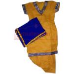 Yellow colour Designer Punjabi Patiala salwar Kids Suit DS002