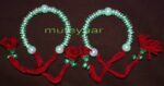 Ladies Sangeet Wedding Time Decorative GANA Wrist Band J0324
