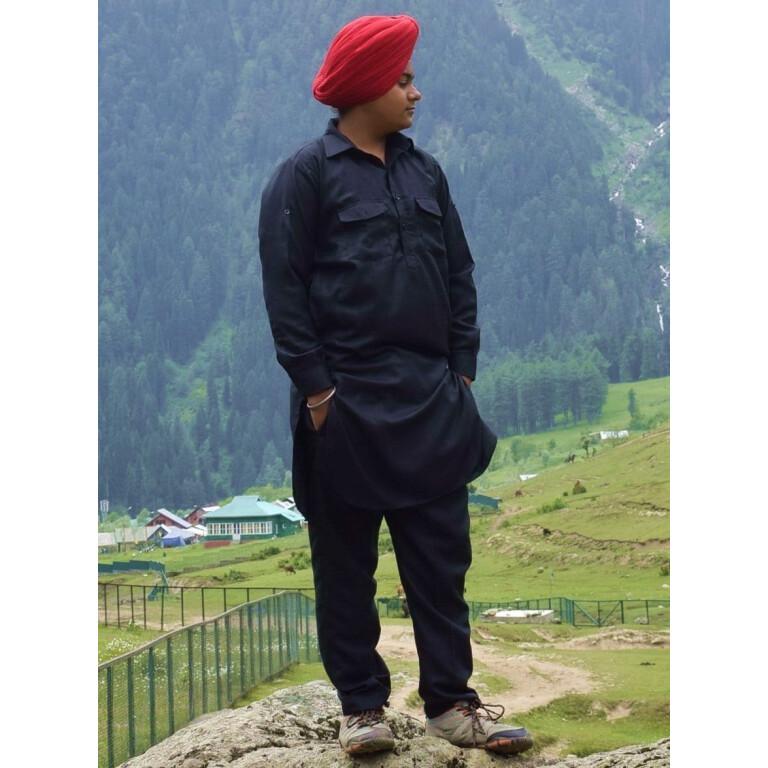 Muktsari Kurta Pajama Traditional Punjabi Custom Stithced for Men KP007