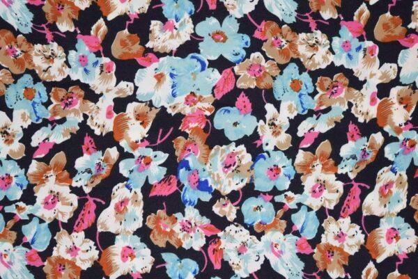 Drapy Printed American Crepe fabric (per meter price)  PAC09