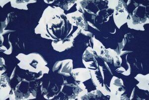Drapy Printed American Crepe fabric PAC10