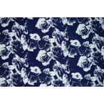 Drapy Printed American Crepe fabric PAC10