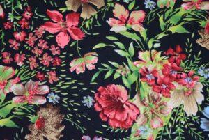 Drapy Printed American Crepe fabric PAC13