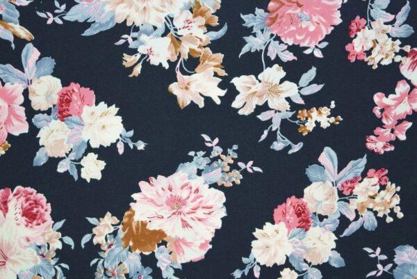 Drapy Printed American Crepe fabric (per meter price)  PAC20