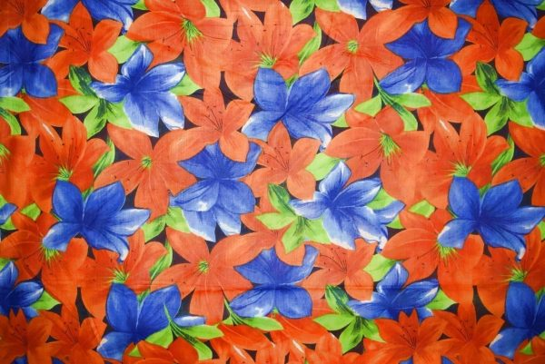 100% PURE Soft COTTON PRINTED fabric (per meter price)  PC255