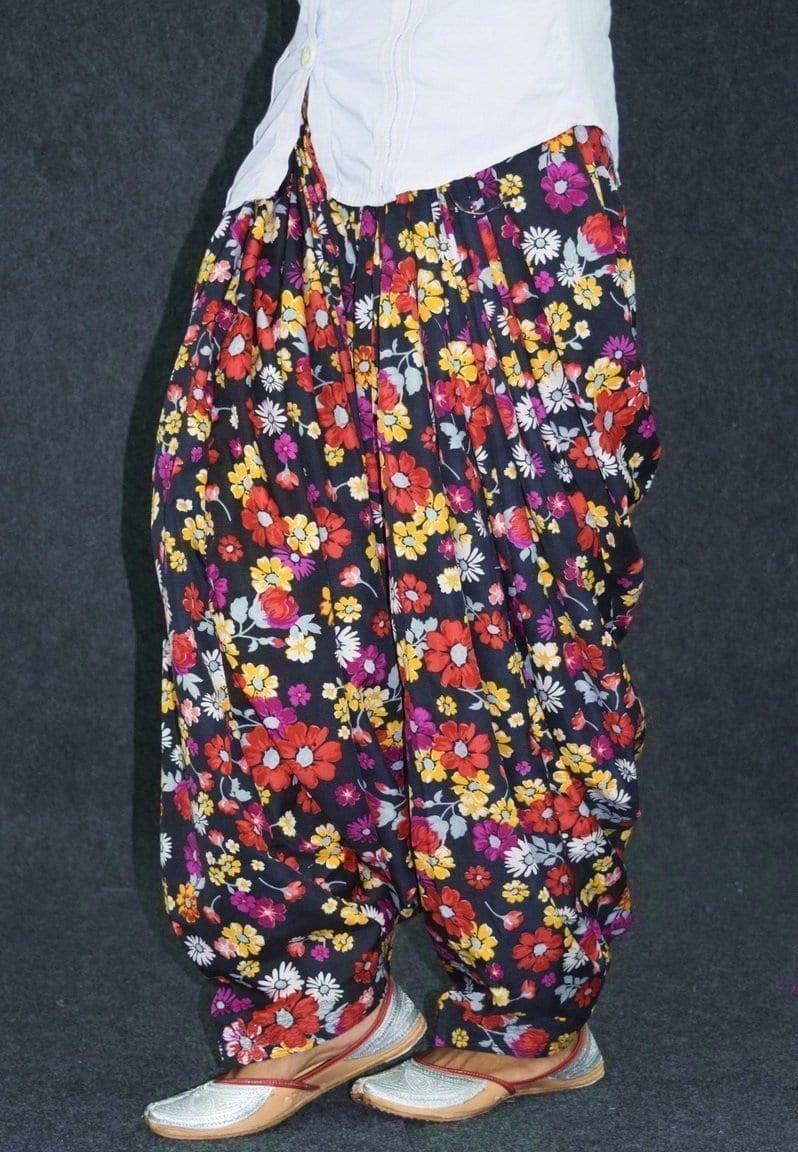 Printed CREPE Custom Stitched 100% Full Patiala Salwar PPS216 2
