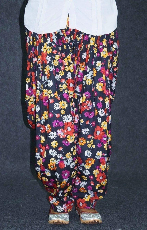 Printed CREPE Custom Stitched 100% Full Patiala Salwar PPS216 4