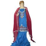 Designer Gota Patti Embroidery 100% cotton Salwar Suit CHIFFON Dupatta RM330