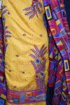 Designer Embroidery Georgette Salwar Dupatta with Cotton Kameez  RM338