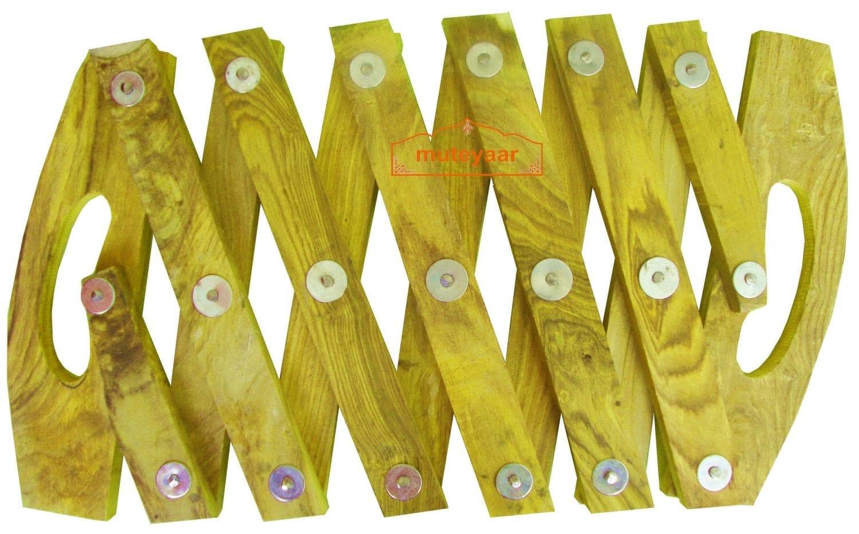 Kainchi for Bhangra - made of white wood 1