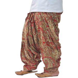 Printed Full Patiala Salwar Limited Edition 100% Pure Cotton Shalwar PPS240