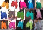 Wholesale Patiala Salwars Bulk Lot of 15 Pieces Plain Cotton Shalwars