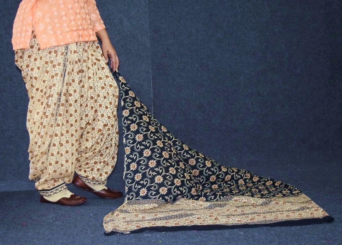 Pure Cotton Printed Patiala Salwar with Print cotton Dupatta PSD215 3