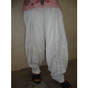 Long Lace Patiala Salwar – direct from Patiala City !!