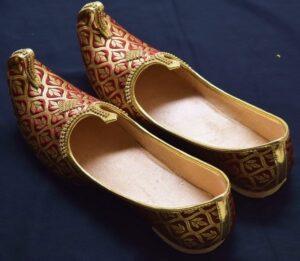Achkan Sherwani Jutti Hand Made Desi Embroidered Wedding Groom Shoes ACJ10