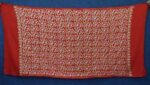 Bridal Red Kashmiri Shawl pure wool Pashmina all over embroidery C0643