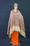 Jaal Embroidered Kashmiri Shawl full Embroidery pure wool Pashmina wrap C0653