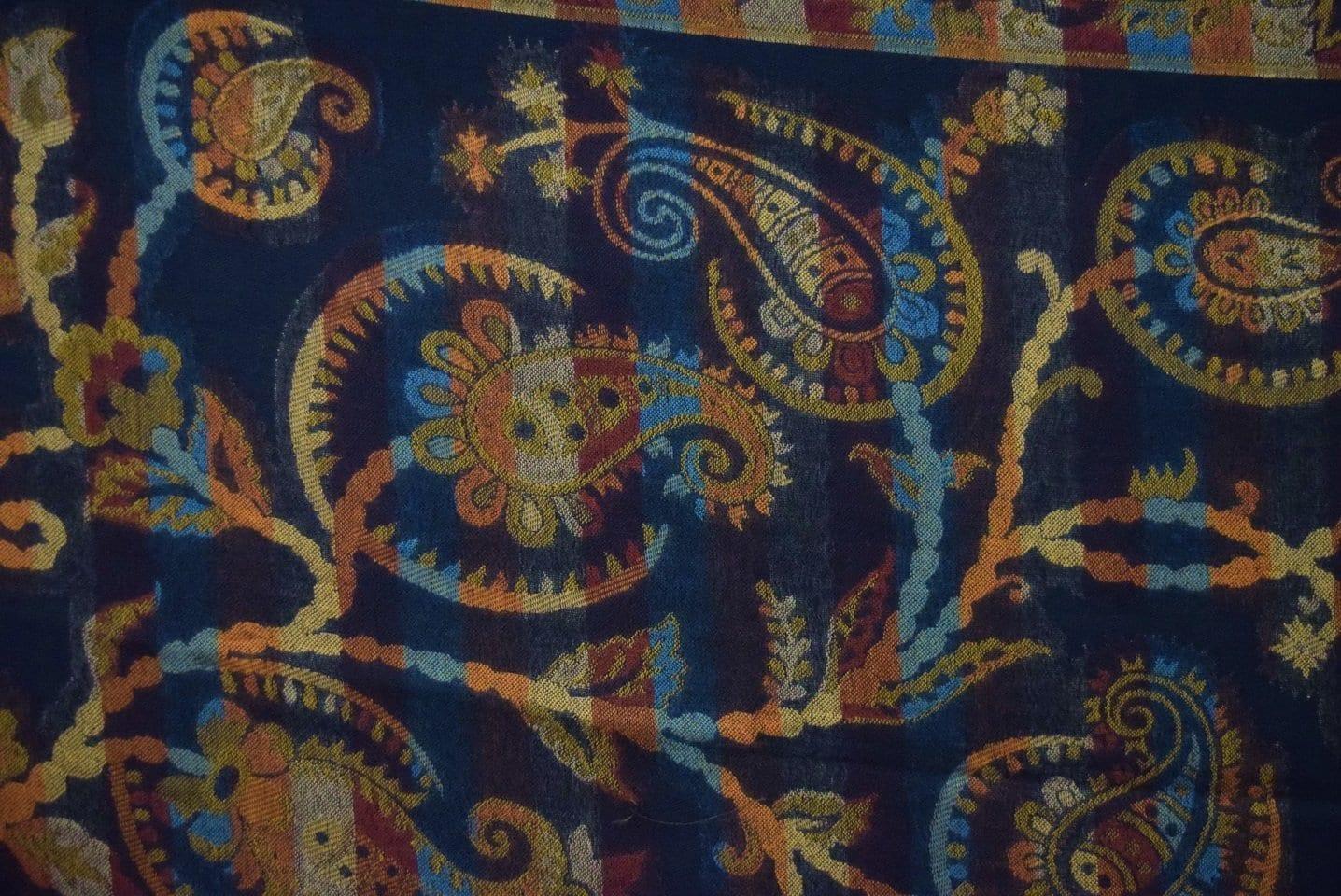 Black Kashmiri Shawl Kani Cutting Work pure wool Pashmina wrap C0659 2