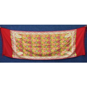 Kashmiri Stole Heavy Embroidery Work pure wool Pashmina wrap C0677
