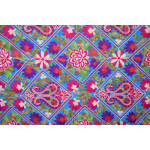 Firozi Kashmiri Stole Multicolour Heavy Embroidery Work pure wool Pashmina C0685