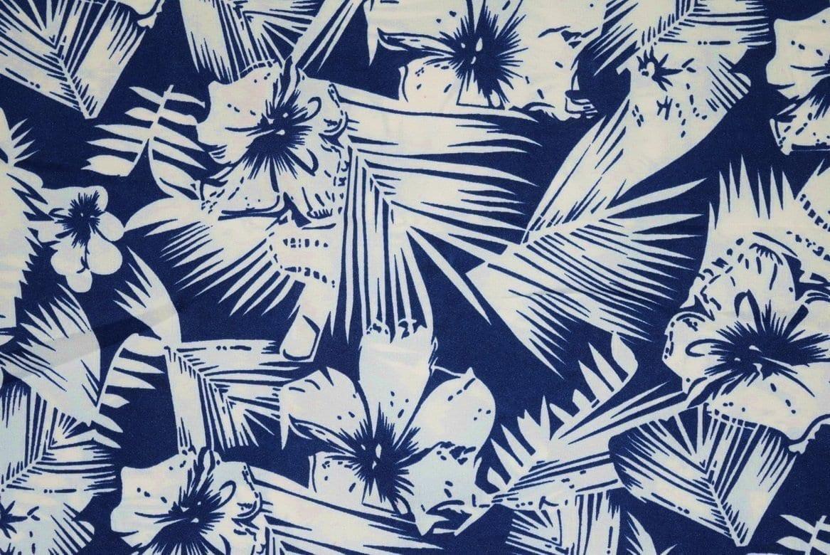 Drapy Printed American Crepe fabric cloth PAC23 1