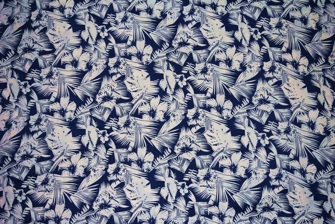 Drapy Printed American Crepe fabric cloth PAC23 2