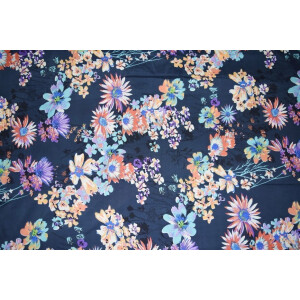 Printed American Crepe fabric drapy cloth PAC24