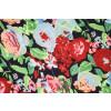 Vibrant Print Crepe fabric drapy cloth for salwar suit (per meter price) PAC37