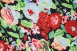 Vibrant Print Crepe fabric drapy cloth for salwar suit PAC37