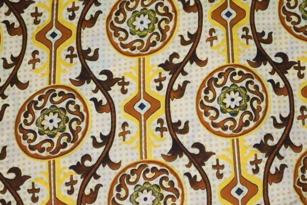 Printed American Crepe fabric drapy cloth for salwar (per meter price) PAC40