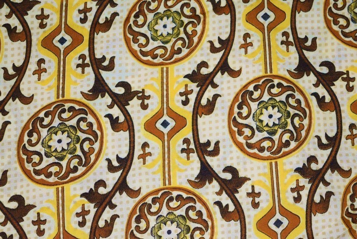 Printed American Crepe fabric drapy cloth for salwar PAC40 1
