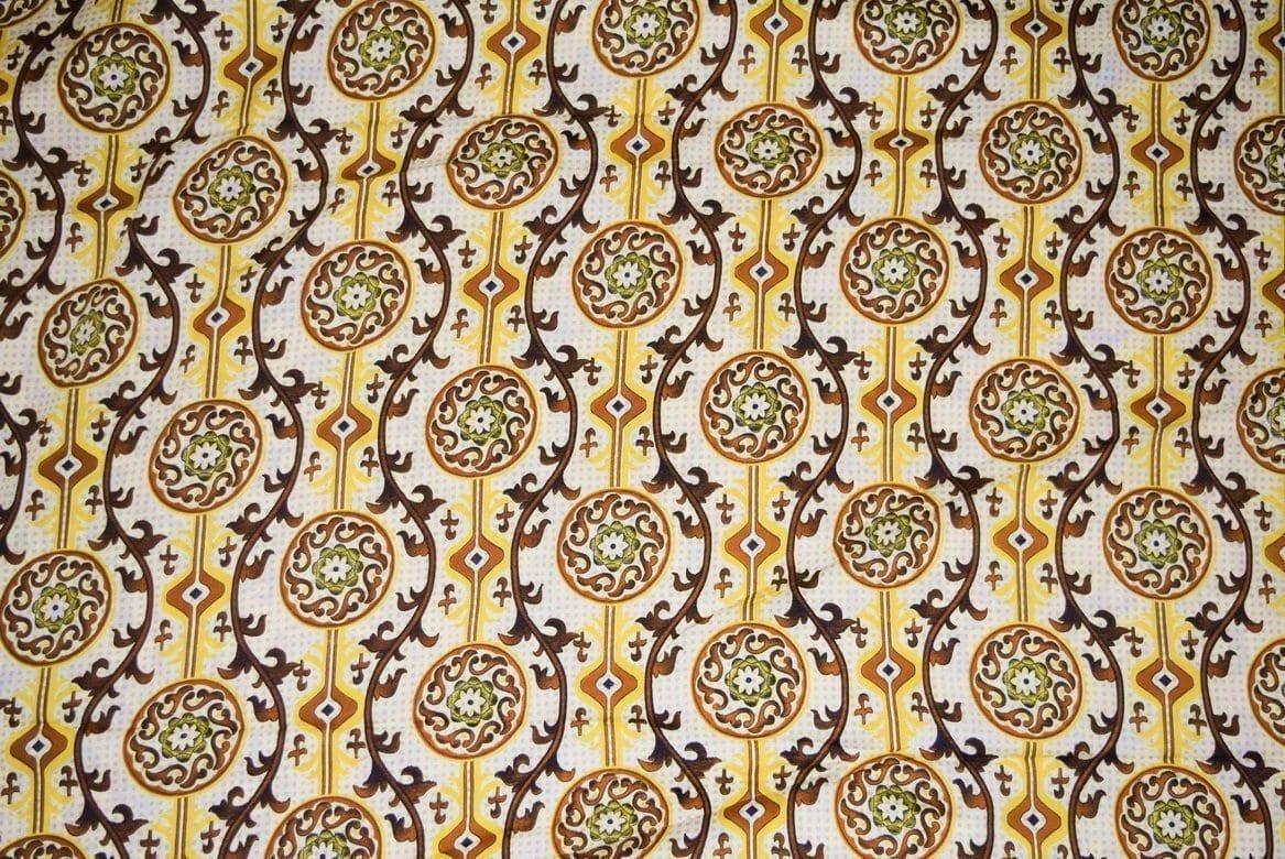 Printed American Crepe fabric drapy cloth for salwar PAC40 2