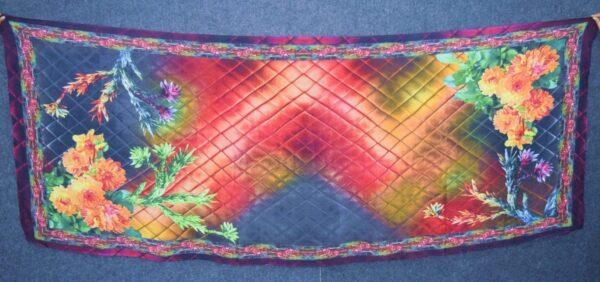DIGITAL PRINT multicolour SEMI CHINON Dupatta Chunni DP022