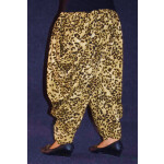 Cheetah Print Crepe Dhoti Salwar / Shalwar custom made DPS03