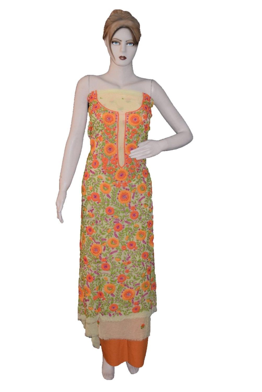 Partywear Georgette Long Kurti K0386 1