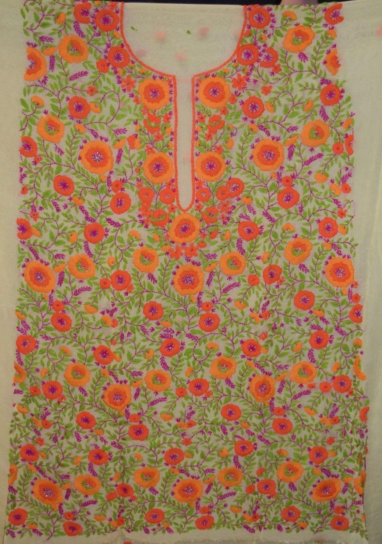 Partywear Georgette Long Kurti K0386 2