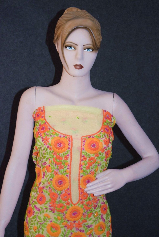 Partywear Georgette Long Kurti K0386 3