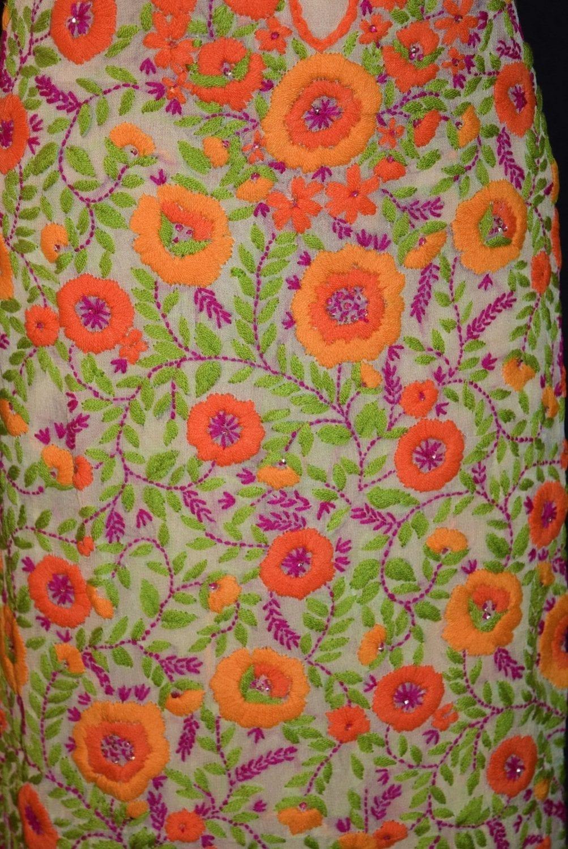 Partywear Georgette Long Kurti K0386 4