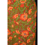 Orange Georgette Long Kurti K0389