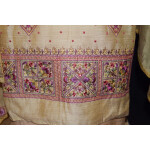 Fine Khadi Cotton Embroidered Salwar Suit with PURE CHINON Dupatta M0328