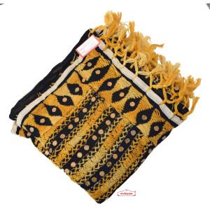 Hand Embroidered Phulkari Dupatta Georgette Chunni D0907