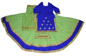 Ghaghra set for GIDDHA – Punjabi Lehenga Costume outfit dance dress