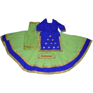 Ghaghra set for GIDDHA – Punjabi Lehenga Costume outfit dance dress