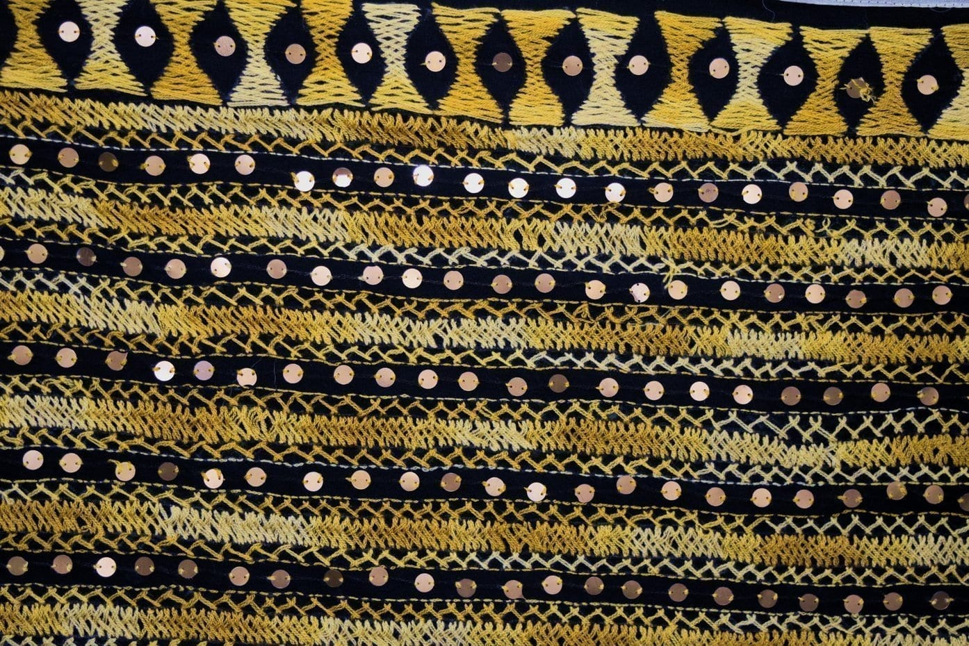 PHULKARI Dupatta Hand Embroidered Party wear Georgette Chunni D0907 3