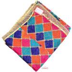 Hand Embroidered Cotton Phulkari Baag Dupatta D0918