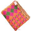 100% Handmade Phulkari Bagh Cotton Dupatta D0919